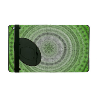 Floral abstraction iPad folio case