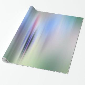 Floral abstracto papel de regalo