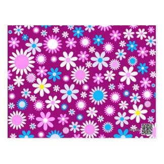 Floral adivine tarjetas postales