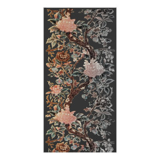 Floral Adornment Panel Poster