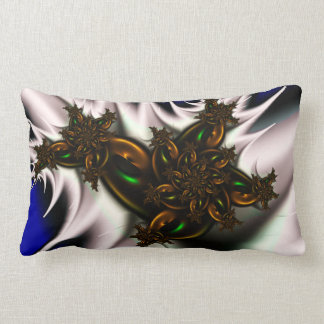 Floral aircraft pillow