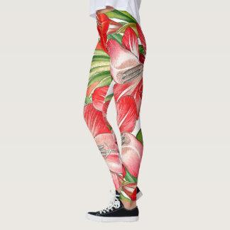 Floral All Over Print Leggings