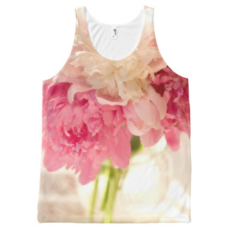 Floral All-Over Printed Unisex Tank