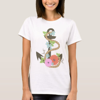 Floral Anchor T-Shirt