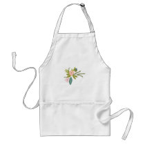 Floral and Fauna Adult Apron