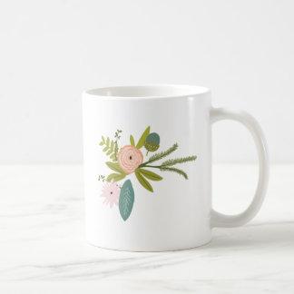 Floral and Fauna Coffee Mug