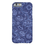 Floral and Ribbon in Blue iPhone 6 Case