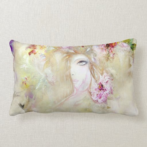 Floral Angel Pillow