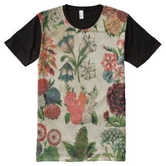 Floral antiguo apenada colorido hermoso
