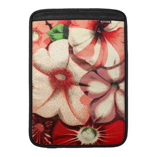 Floral antiguo hermoso fundas MacBook