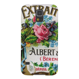 Floral Antique French Perfume Smartphone Case