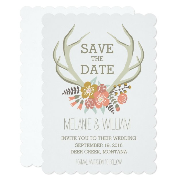 Rustic Save The Date Invitations is amazing invitations design