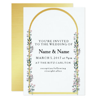 Floral Arch Card