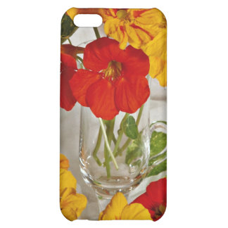 Floral arrangement flowers case for iPhone 5C