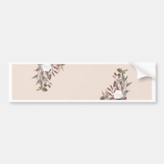 Floral Arrangement in Pink and Mauve Bumper Sticker