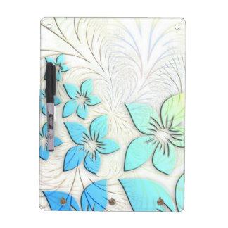 Floral Art Dry Erase Boards