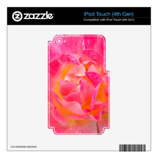 Floral Art iPod Touch 4G Decals
