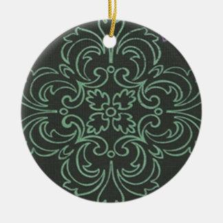 Floral Art Ornament