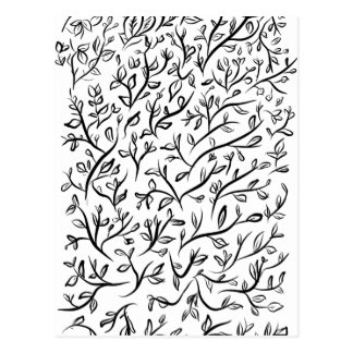 floral art pattern texture design postcard