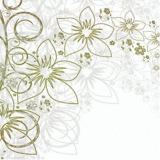 Floral Art Photo Cut Out