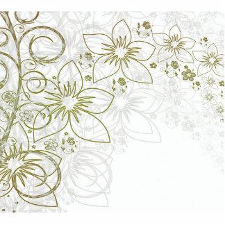 Floral Art Photo Cutouts