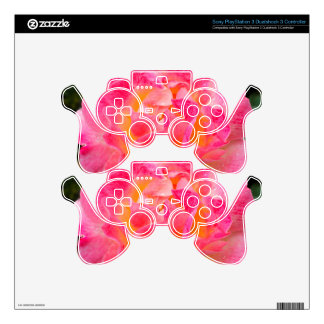 Floral Art PS3 Controller Decals