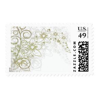 Floral Art Stamps