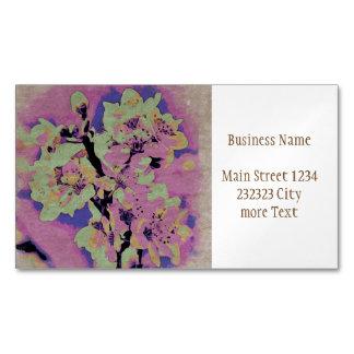 Floral Art Studio 12216 Magnetic Business Card