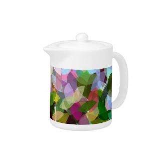 FLORAL ART zazzle_teapot