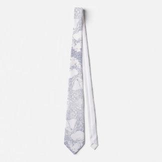 Floral Art Tie