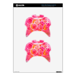 Floral Art Xbox 360 Controller Decal