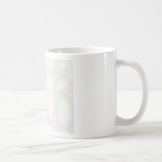 Floral Artistic Patch - Easy Add Text Image 1 Classic White Coffee Mug
