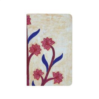 Floral Artwork at Amber Fort (2) Journal