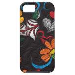Floral artwork iPhone 5 case