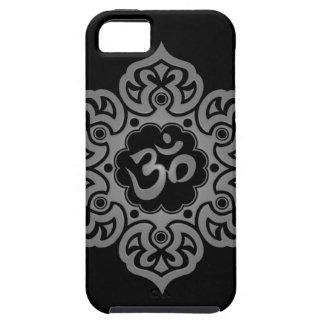 Floral Aum Design – grey iPhone 5 Cover