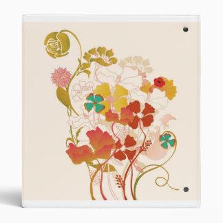 Floral Avery Binder