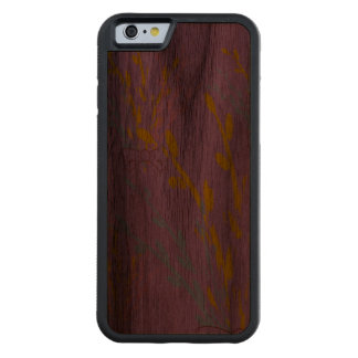 Floral Awareness Ribbons on Lilac Purple Carved Walnut iPhone 6 Bumper Case