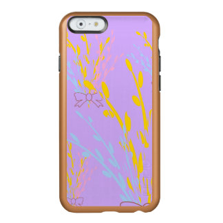 Floral Awareness Ribbons on Lilac Purple Incipio Feather Shine iPhone 6 Case