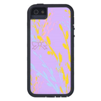 Floral Awareness Ribbons on Lilac Purple iPhone SE/5/5s Case