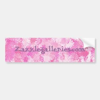 floral (azalea)Bumper sticker -