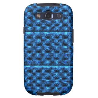Floral azul galaxy s3 carcasa