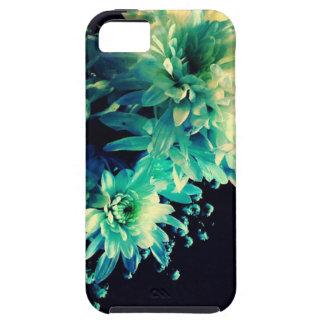 Floral azul funda para iPhone SE/5/5s