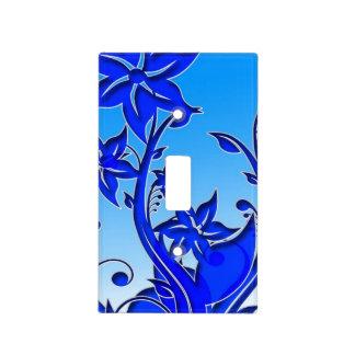 Floral azul precioso