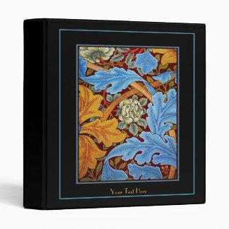 Floral azul REVISADA de la impresión de William Mo