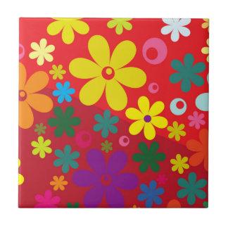 Floral Tejas Ceramicas