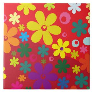 Floral Azulejos Ceramicos
