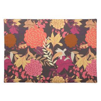 Floral background 2 cloth place mat