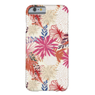 Floral background 3 barely there iPhone 6 case