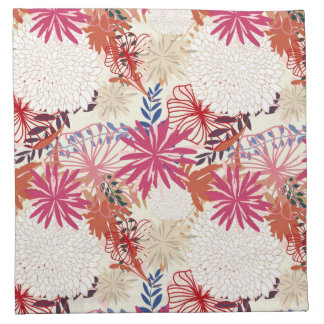 Floral background 3 cloth napkin