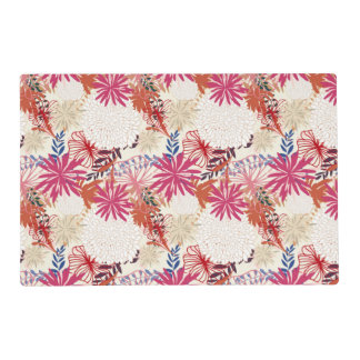 Floral background 3 placemat